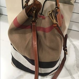 Burberry canvas bag